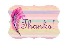 pretty thank you